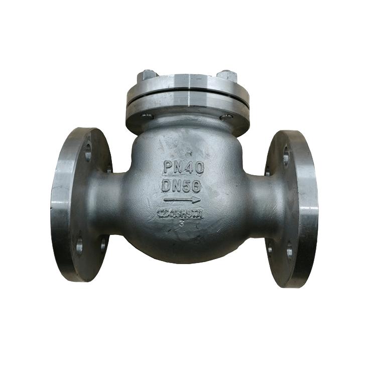 Клапан обратный фланцевый 19с53нж
