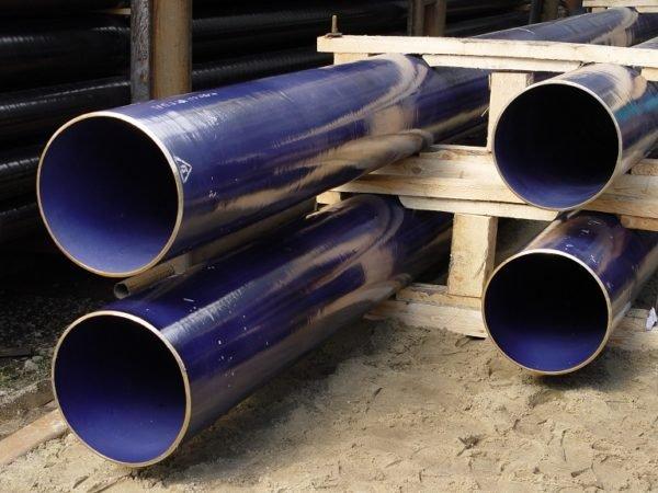 силикатно-эмалевое покрытие труб