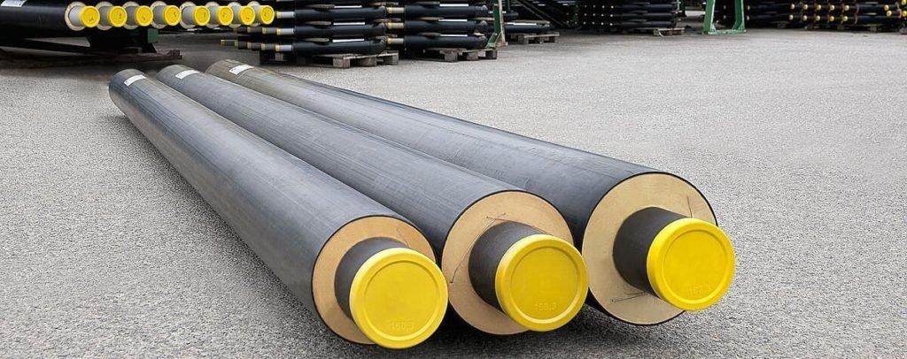 стальные трубы в ППУ изоляции